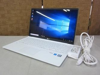 横浜市神奈川区にて LG gram ノートPC 15Z980-GR55J を店頭買取しました