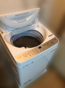 全自動洗濯機 ES-GE7B-W シャープ