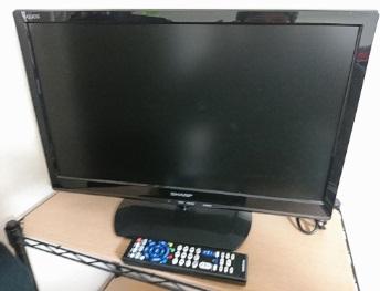 小平市にて シャープ 液晶テレビ LC-22K20 を出張買取しました