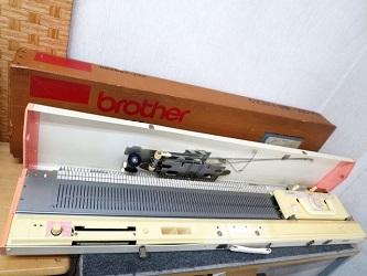大田区にて ブラザー PUNCH9 編み機 KH-260 を出張買取しました