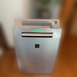 町田市にて シャープ 空気清浄機 KI-FX100-N を出張買取しました