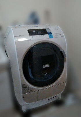 相模原市にて 日立 ドラム式洗濯乾燥機 BD-V3600 を出張買取致しました