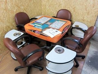 横浜市瀬谷区にて アモス アルティマ 全自動麻雀卓セット を出張買取致しました