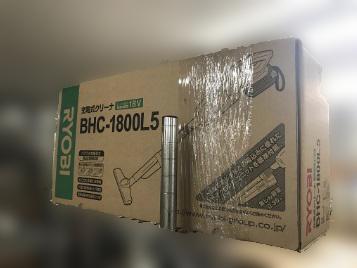 相模原市にて RYOBI コードレス クリーナー BHC-1800L5 を店頭買取致しました
