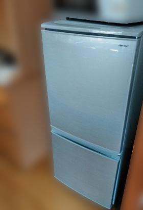 冷凍冷蔵庫 シャープ SJ-D14D-S