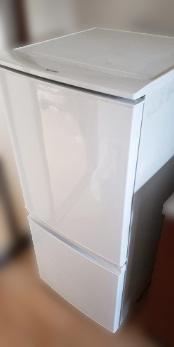 八王子市にて シャープ 冷凍冷蔵庫 SJ-D14A-W を出張買取致しました