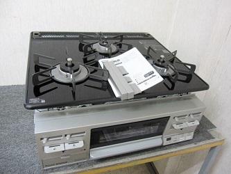 横浜市西区にて リンナイ ビルトインガスコンロ RB31AM4B33R-VW を出張買取致しました