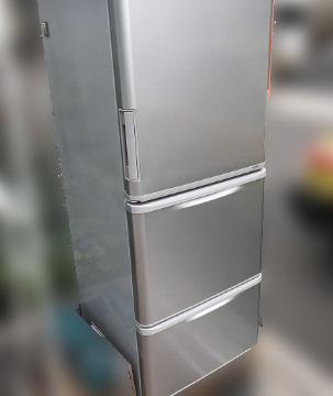 文京区にて シャープ 冷凍冷蔵庫 SJ-WA3B を出張買取しました