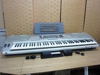 新宿区にて CASIO 電子キーボード WK-3700 を出張買取致しました