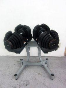 アジャスタブルダンベル 40kg×2