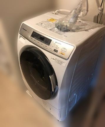 町田市にて パナソニック ドラム式洗濯乾燥機 NA-VD110L を出張買取致しました