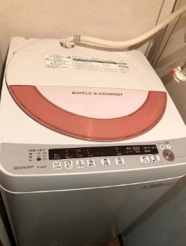 相模原市にて シャープ 全自動洗濯機 ES-GE60P を出張買取致しました