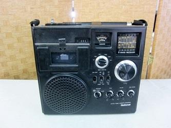 ナショナル 6バンド ラジオカセットレコーダー ラジカセ RQ-585