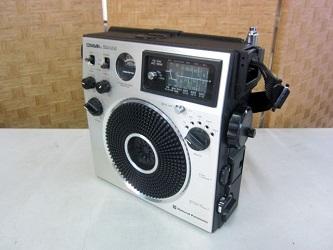 横浜市戸塚区にて ナショナル COUGAR 115 BCLラジオ を出張買取致しました