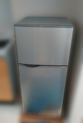 日野市にて シャープ 冷凍冷蔵庫 SJ-H12Y-S を出張買取致しました