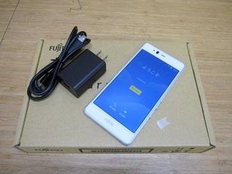 小平市にて 富士通 arrows M04 スマートフォン FARM06302 を店頭買取致しました