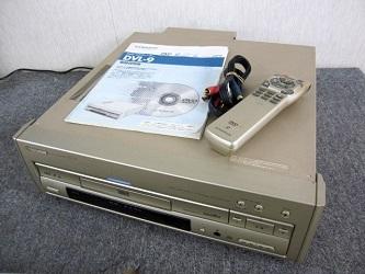 パイオニア レーザーディスクプレーヤー LD DVDプレーヤー DVL-9
