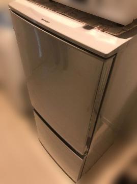 大和市にて シャープ 冷凍冷蔵庫 SJ-D14A-S を出張買取致しました