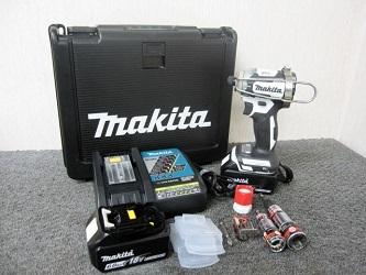 小平市にて マキタ インパクトドライバー TD170DRGX を店頭買取致しました