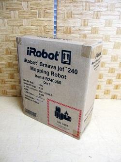 町田市にて iRobot Braava jet240 ブラーバ 床拭きロボット を出張買取致しました