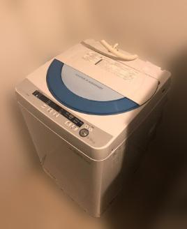 大和市にて シャープ 全自動洗濯機 ES-GE55P-A を出張買取致しました