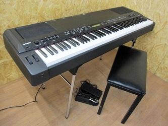 新宿区にて YAMAHA ステージピアノ CP300 イス付き を出張買取致しました