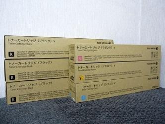 小平市にて 富士ゼロックス 純正トナー CT201360 CT201361 6個 を店頭買取しました