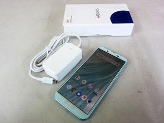 世田谷区にて au AQUOS sense2 SHV43 SGA スマートフォン を店頭買取致しました