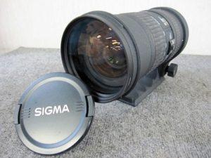 SIGMA レンズ 50-500mm 14-6.3D APO