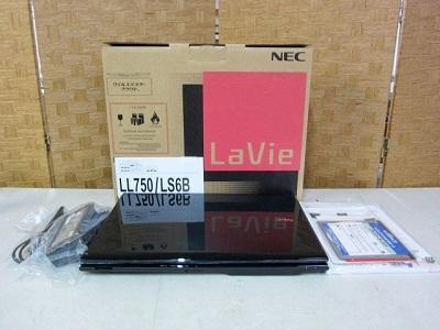 八王子市にて NEC LaVie ノートパソコン PC-LL750LS6B を出張買取致しました