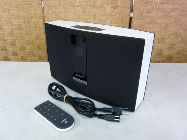 港区にて BOSE SoundTouch 20 ワイヤレススピーカー を出張買取致しました