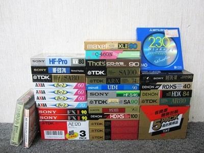 相模原市にて カセットテープ まとめ SONY AXIA DENON TDKなど を出張買取致しました