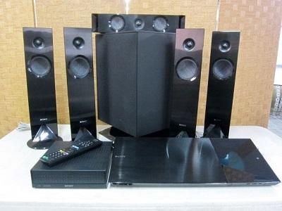 横浜市青葉区にて SONY ホームシアターシステム BDV-N1WL を出張買取致しました
