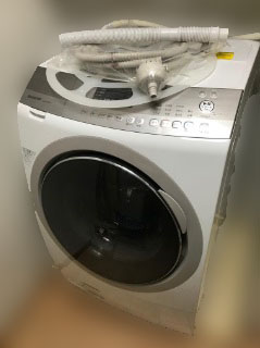 立川市にて シャープ ドラム式洗濯乾燥機 ES-A200 を出張買取致しました
