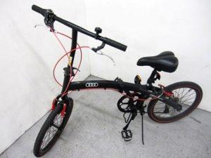 アウディ 20インチ 折りたたみ自転車 ミニベロ