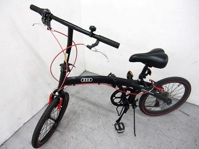 横浜市青葉区にて アウディ 折りたたみ自転車 ミニベロ を出張買取致しました