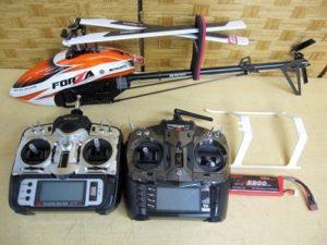 JR FORZA450 プロポ XG8 X7R ラジコン ヘリコプター
