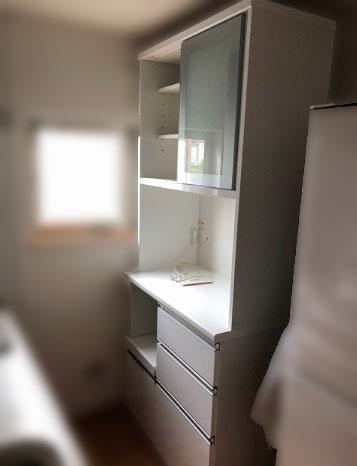 相模原市にて 食器棚 W900 ソフトクローズ付き を出張買取致しました