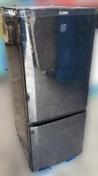八王子市にて 三菱 冷凍冷蔵庫 MR-P15EA-KK を出張買取致しました