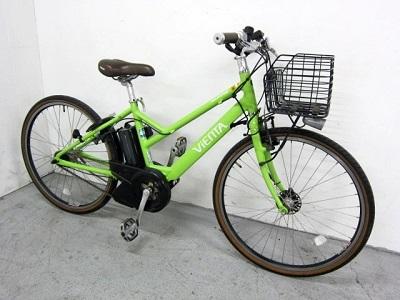港区にて ヤマハ 電動自転車 PAS VIENTA PM26V を出張買取致しました