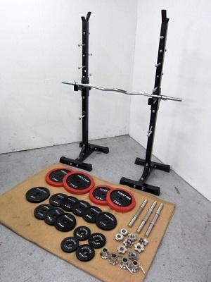 東村山市にて ファイティングロード バーベル プレート 計65kgを出張買取致しました