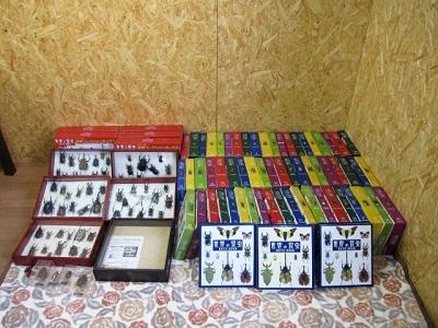 座間市にて ディアゴスティーニ 世界の昆虫 フィギュアまとめ を出張買取致しました