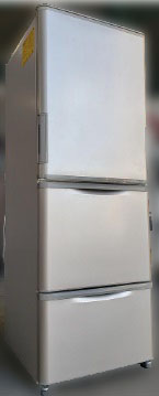 大和市にて シャープ 冷凍冷蔵庫 SJ-W352B-N を出張買取致しました