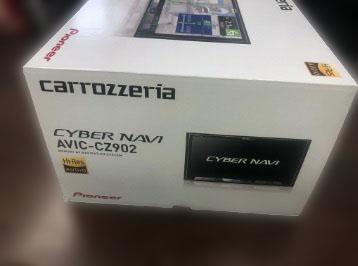 大和市にて カロッツエリア カーナビ AVIC-CZ902 を店頭買取致しました