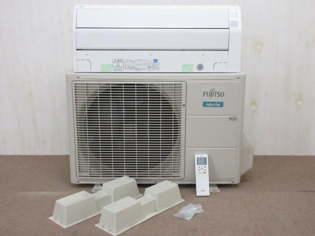 鎌倉市にてFUJITSU  AS-C40G-W/AO-C40G ルームエアコン 14畳用 nocria  2017年製を出張買取しました。