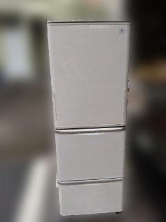 府中市にて シャープ 冷凍冷蔵庫 SJ-PW35A を出張買取致しました