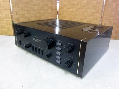 杉並区にて サンスイ プリメインアンプ AU-D607X を出張買取致しました