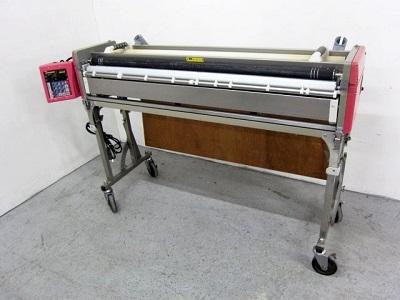 大和市にて 極東産機 自動壁紙糊付機 プライムミューⅡ を店頭買取致しました