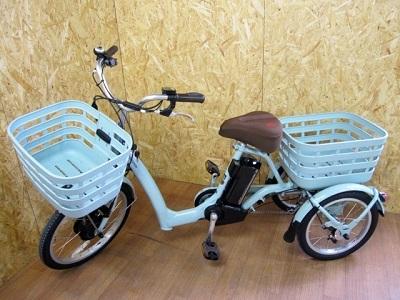 大和市にて ブリヂストン 電動三輪車 ラクットワゴン FW0B49 を店頭買取致しました