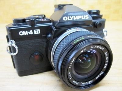 横浜市南区にて オリンパス フィルムカメラ OM-4Ti を出張買取致しました